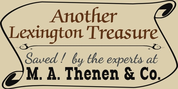 Another Lexington Treasure by M.A. Thenen